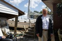 At least you got a nice boat out of the deal Trump tells NC man during postFlorence tour