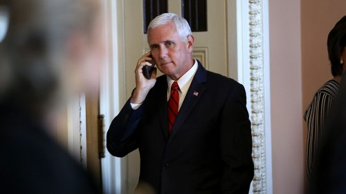 Trump privately asking aides if Pence is loyal report