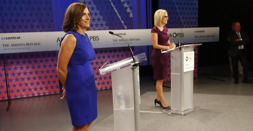 Martha McSally Snags the Ultimate Consolation Prize