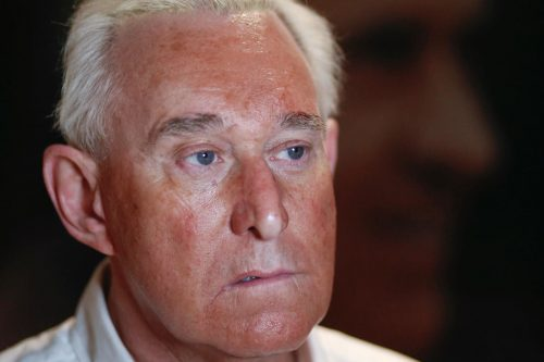 Longtime Trump adviser Roger Stone indicted by special counsel in Russia investigation