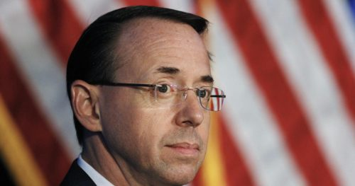 Deputy Attorney General Rod Rosenstein who oversees Mueller probe to leave Justice Department