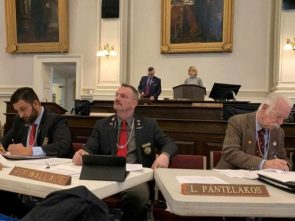 NH GOP lawmakers mocked gun violence survivors by wearing clutchable pearl necklaces to gun control hearing