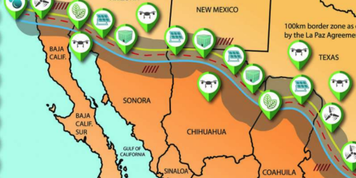 New alternative to Trumps wall would create jobs renewable energy and increase border security