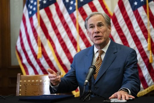 After crushing womens right to choose, Greg Abbott says Texans have right to choose not to get vaxxed
