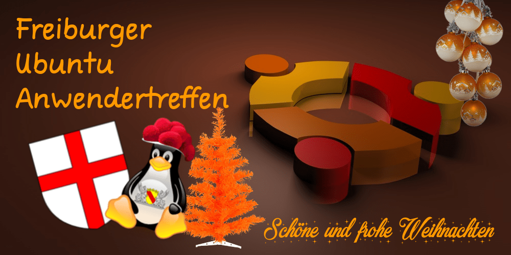 Freiburger_Ubuntu_Anwendertreffen_Weihnachten