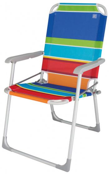 chaise pliante beziers 90 x 55 cm aluminium polyester