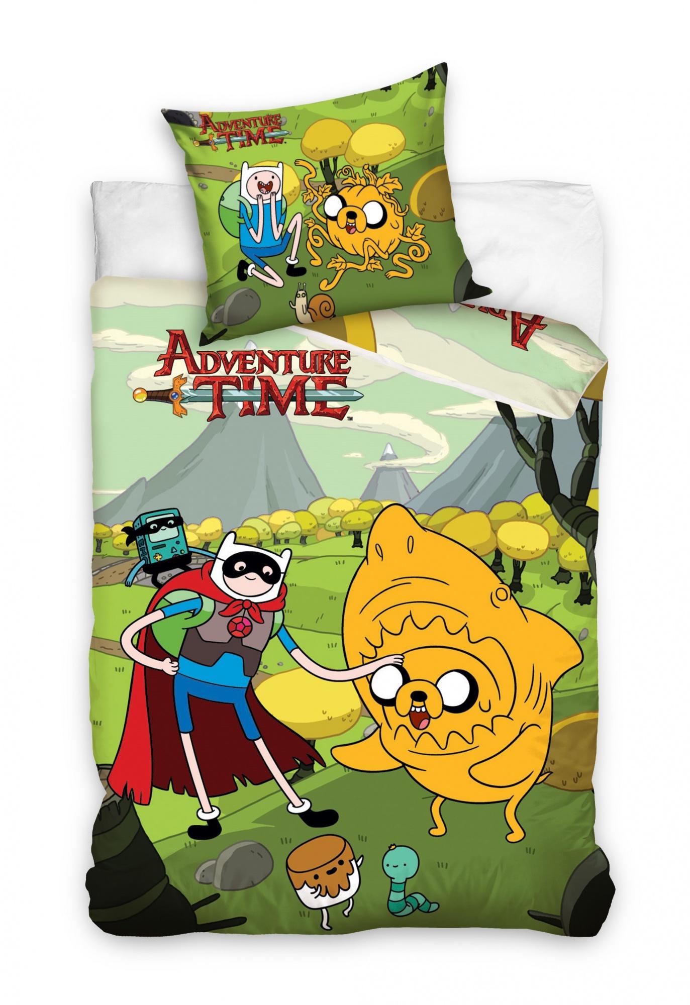 Carbotex Dekbedovertrek Adventure Time 1006 160 x 200 cm