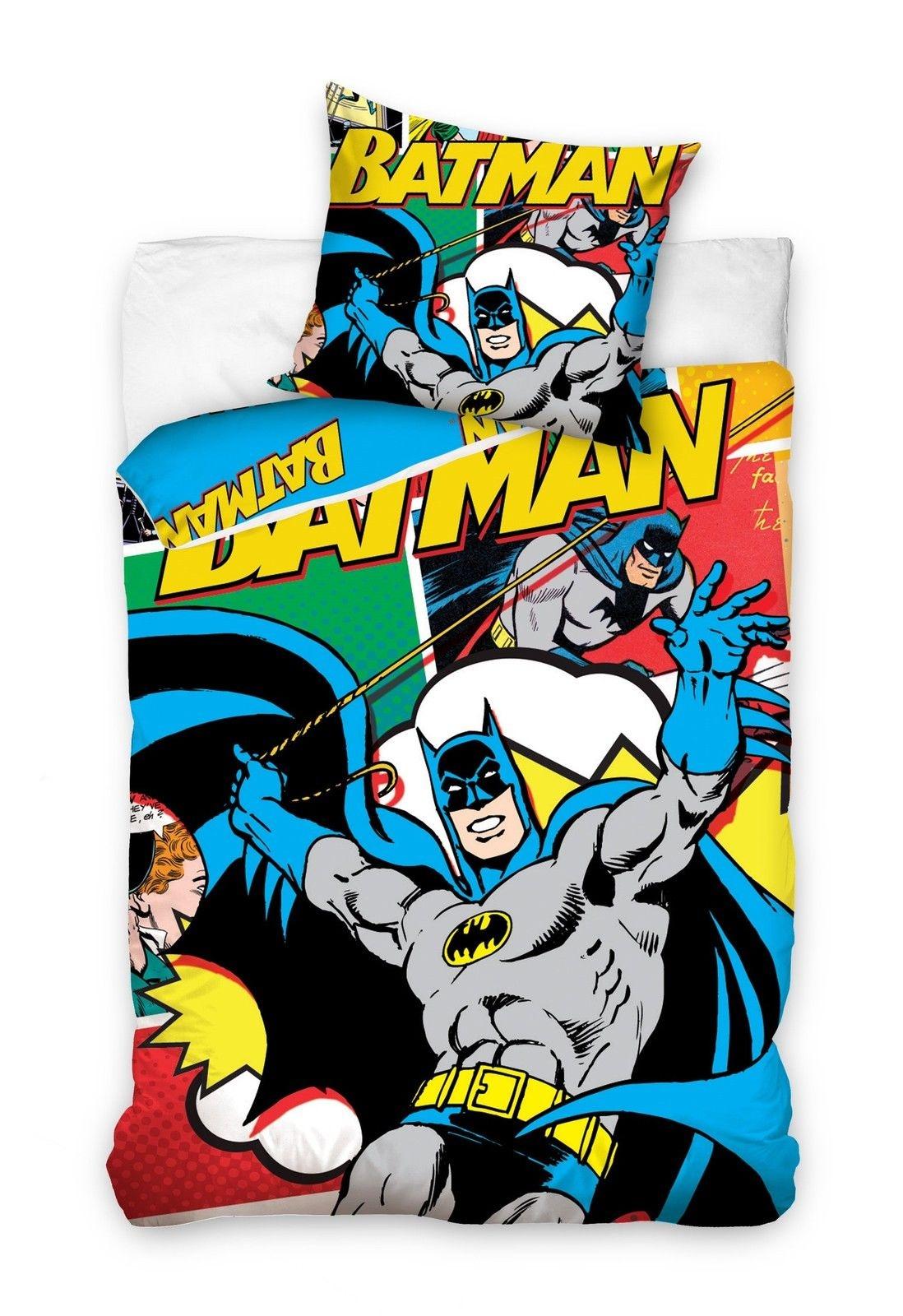 Carbotex Dekbedovertrek Batman 160 x 200 cm  InternetToys