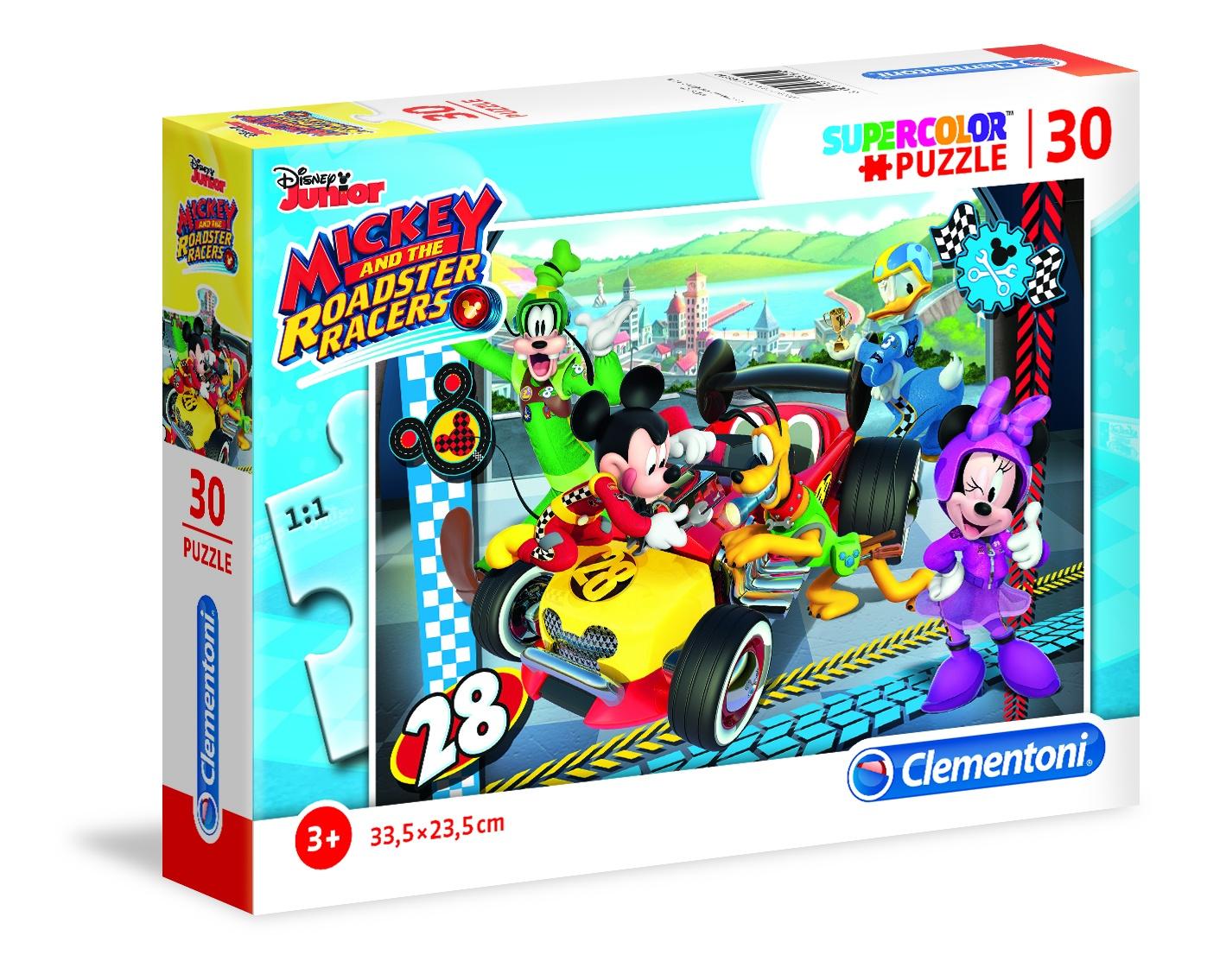 Clementoni puzzel SuperColor Puzzle Mickey Mouse 30 stukjes - Internet-Toys