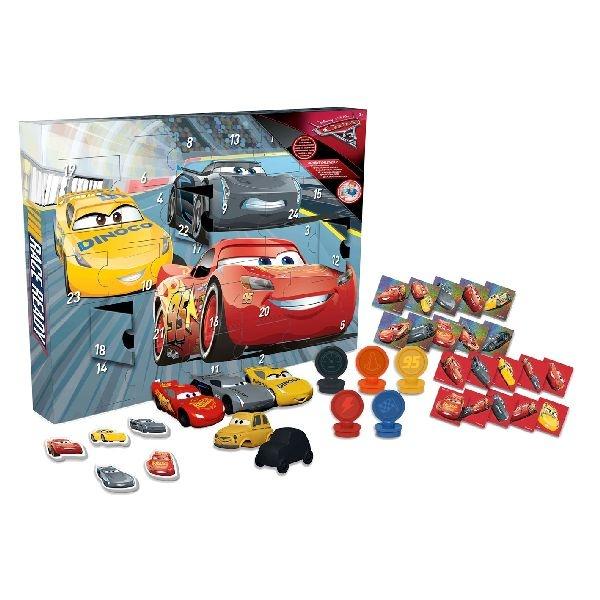 Disney adventskalender Cars 3 29delig  InternetToys