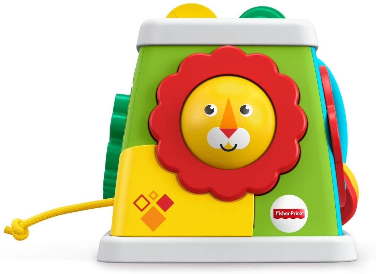 Fisher-Price activity cube Jungle 15 cm - Internet-Toys