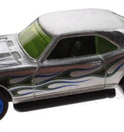 hot wheels zamac jubilee car 68 copo camaro silver 7 5 cm  [ 2000 x 913 Pixel ]