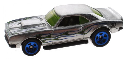 small resolution of hot wheels zamac jubilee car 68 copo camaro silver 7 5 cm