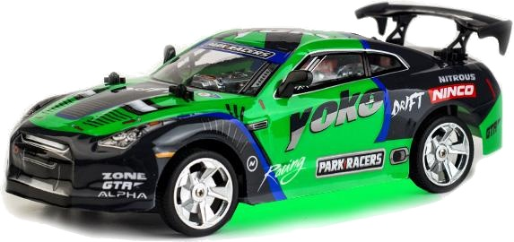 Ninco RC raceauto Yoko groenzwart 21 cm  InternetToys