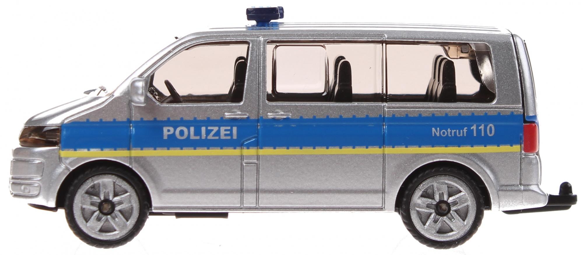 hight resolution of siku german police bus volkswagen transporter gray 1350 enlarge