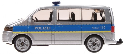 small resolution of siku german police bus volkswagen transporter gray 1350 enlarge