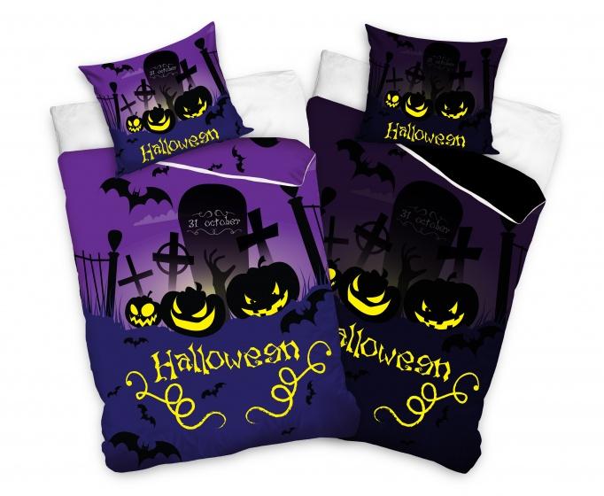 Carbotex Dekbedovertrek Halloween 160 x 200 cm  InternetToys