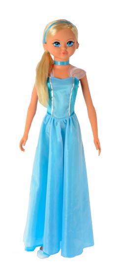 poupee ado 105 cm filles princesse bleue