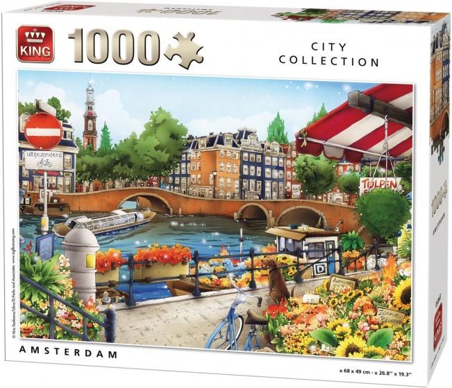King legpuzzel Amsterdam 1000 stukjes  InternetToys
