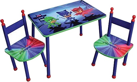 Disney PJ Masks table with junior chairs