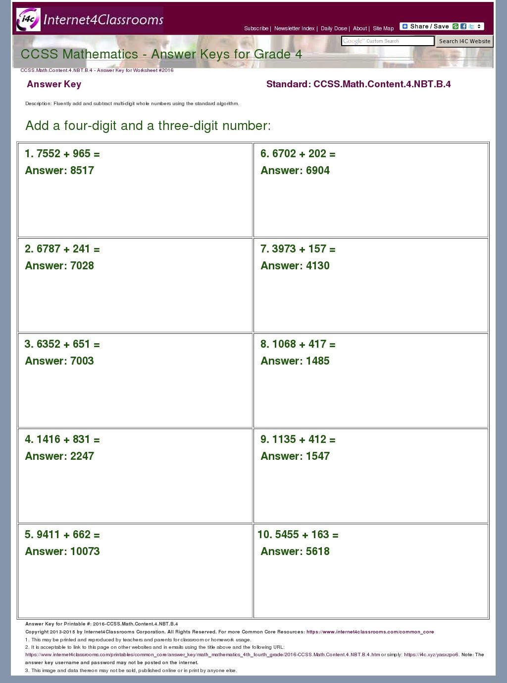 Answer Key Download