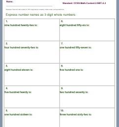 Description/Download - Worksheet #6839. CCSS.Math.Content.2.NBT.A.3 [ 1405 x 1024 Pixel ]