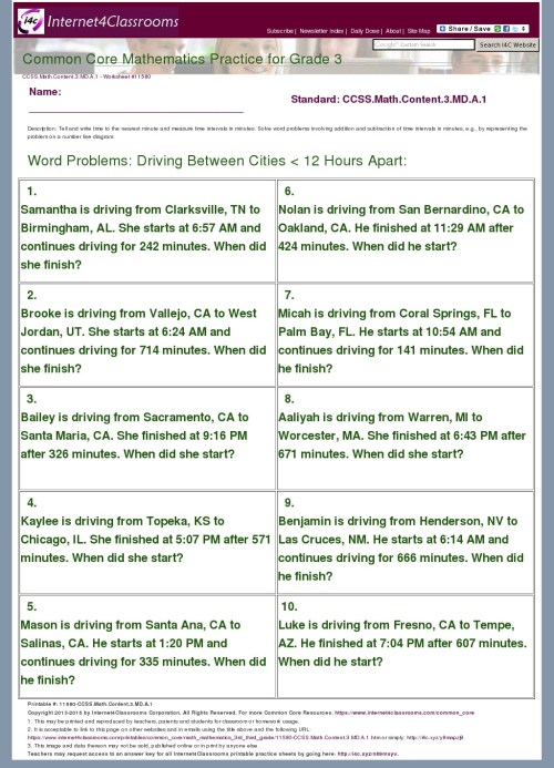 small resolution of Common Core Math Worksheets Grade 7   Printable Worksheets and Activities  for Teachers