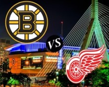 Bruins v Red Wings 2