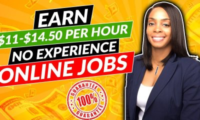 $11-$14 Hourly Work from Home Online Jobs with No Experience