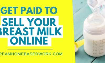 3 Ways To Get Paid To Sell Breast Milk Online| Dream Home Based Work