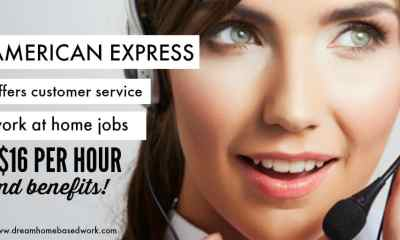 American Express Hiring! Legit Work at Home Jobs with Great Benefits
