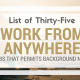 35 Work-from-Anywhere Jobs That Permit Background Noise