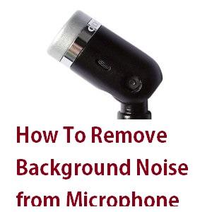 Noise-Canceling-Mic