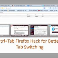 Ctrl+Tab Firefox Hack for Better Tab Switching