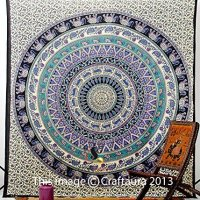 Hippie Elephant Tapestries