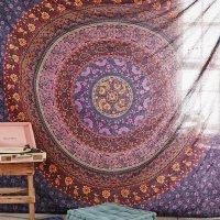 Hippy Mandala Bohemian Tapestries