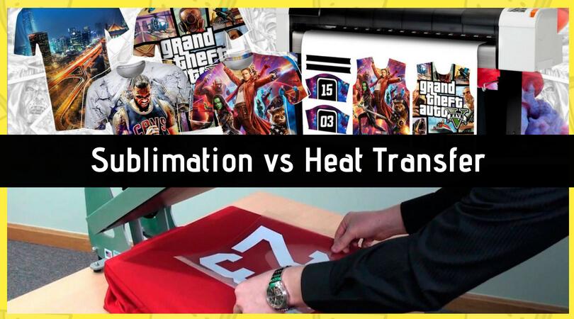 Sublimation vs heat transfer