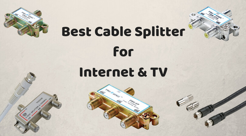 Best Cable Splitter for Internet and TV