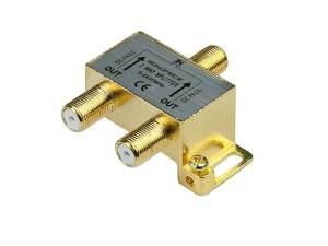 Monoprice 110013 PREMIUM 2-Way Cable Splitter
