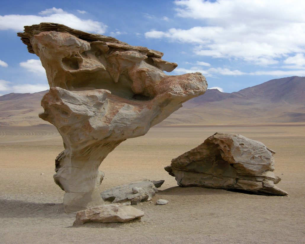 Landform of wind erosion