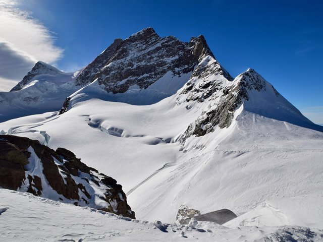 An arete in Switzerland