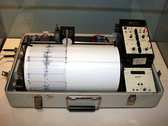 image of a seismograph