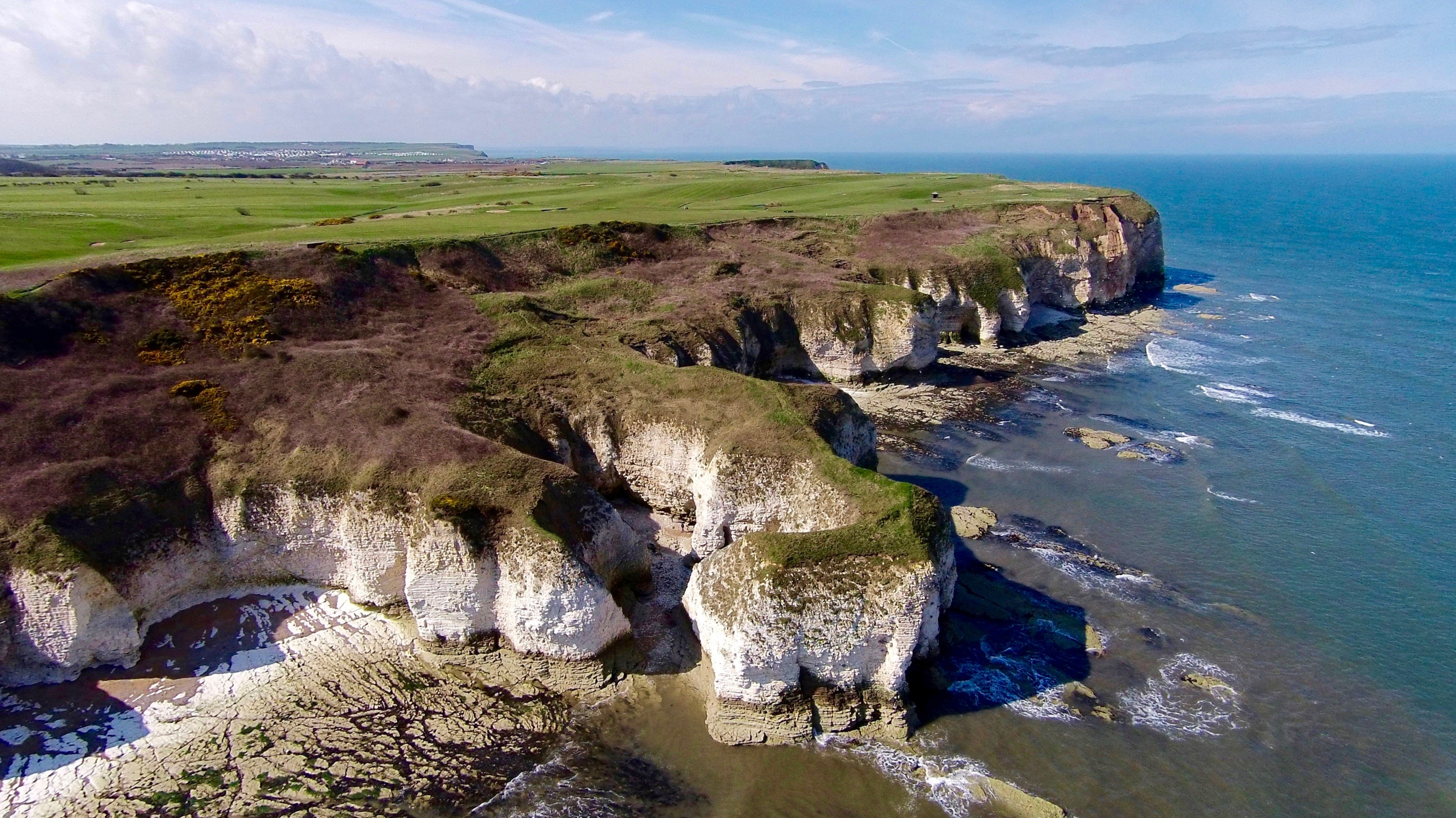 Cliffs at Flamborough