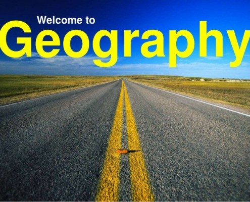 welcome to geography