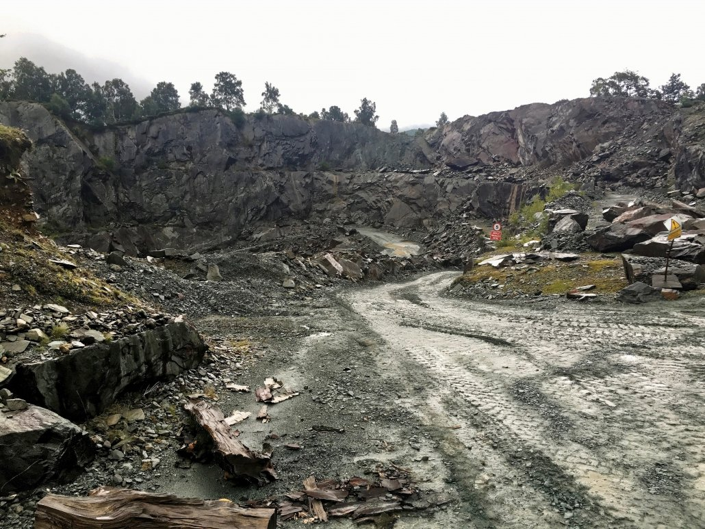 A quarry in the Lake District