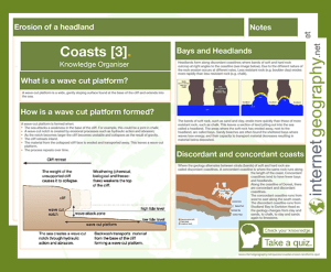 Landforms of coastal erosion