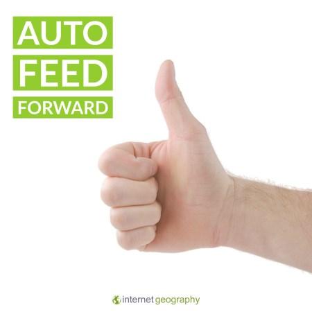 Auto feed forward