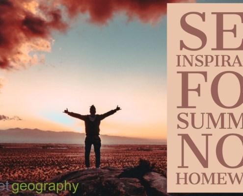 set inspiration not homework