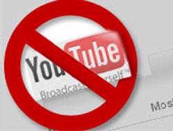 Youtube'a yine yasak geldi