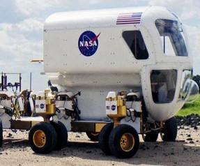 NASA, Ay'da bu kamyonla gezecek